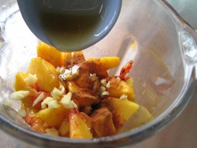 Boisson pêches et melon au gingembre - 4.4