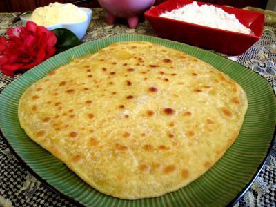 farine de maïs : Assiette de taloa