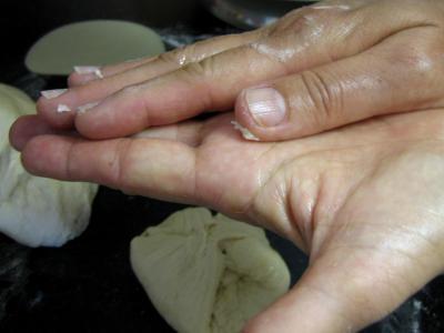 Taloa au jambon et aux girolles façon Basque - 10.2