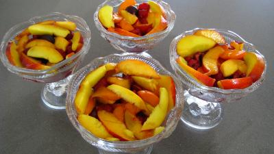 Blanquette de nectarines aux fruits rouges - 8.3