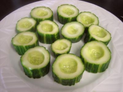 Bouchées au concombre et au roquefort - 6.2