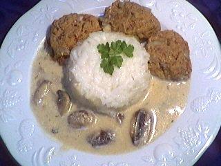 Recette Boulettes de boeuf au riz (klopsiki)