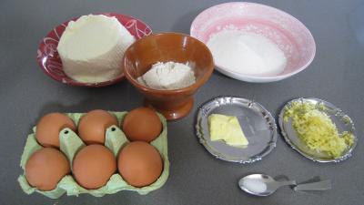 Ingrédients pour la recette : Fiadone de Corse