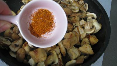 Tagliatelles au poulet et au cognac - 5.4