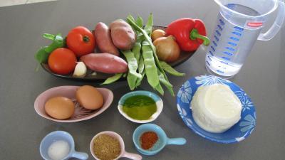 Ingrédients pour la recette : Soupe à la brousse façon Corse
