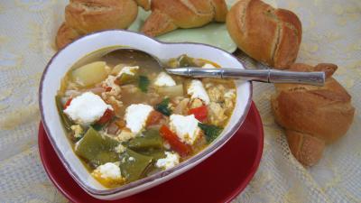 Soupe à la brousse façon Corse - 10.3
