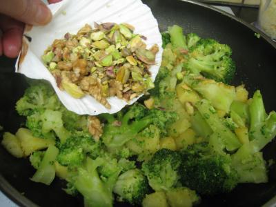 Crêpes aux brocolis et aux noix - 12.3