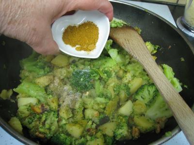 Crêpes aux brocolis et aux noix - 13.3