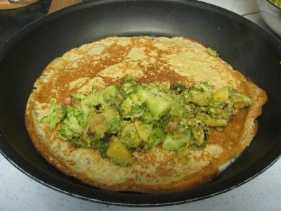 Crêpes aux brocolis et aux noix - 14.2