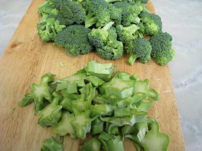 Crêpes aux brocolis et aux noix - 1.1