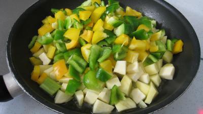 Pommes de terre aux poivrons - 7.2