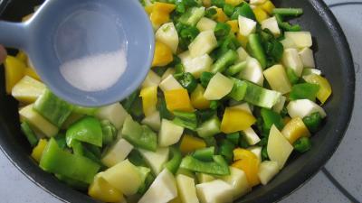 Pommes de terre aux poivrons - 7.4