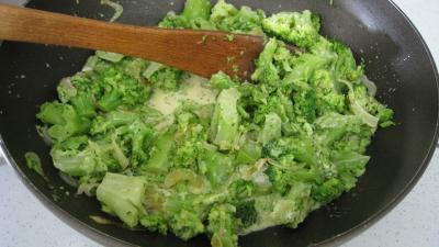 Brocolis à la crème de coco - 6.4