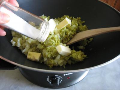 Purée de brocolis - 6.4