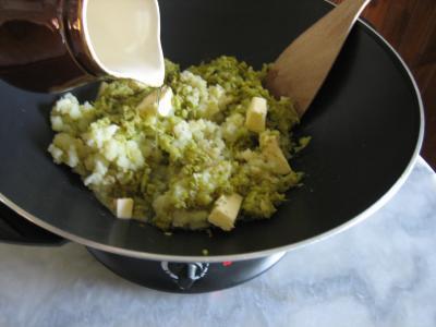 Purée de brocolis - 7.2