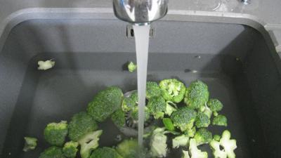 Brocolis aux oeufs en salade - 1.3