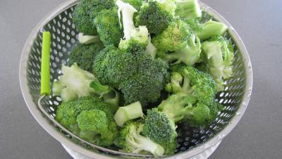 Brocolis aux oeufs en salade - 2.2