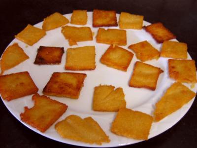 Canapés de polenta au saumon fumé - 10.1