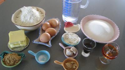 Ingrédients pour la recette : Pâte à babas et savarins et son sirop