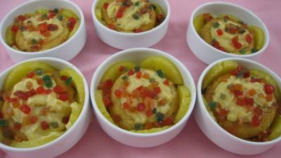 Fête des mères : Cassolettes de baba à l'ananas