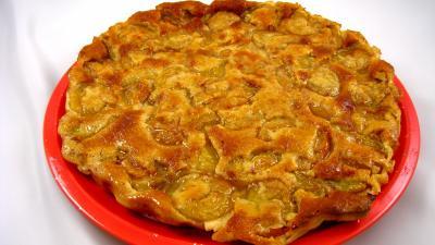 Recette Clafoutis aux mirabelles et aux cacahuètes