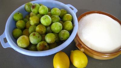 Ingrédients pour la recette : Gelée de mirabelles