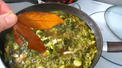 Caldo verde, soupe façon portugaise - 8.2
