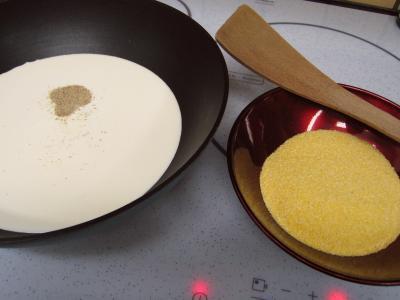 Cassolettes de moules et polenta au boursin - 4.3