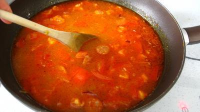 Riz, crevettes, moules et raie à la portugaise - 7.1