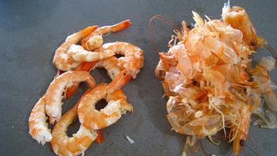 Riz, crevettes, moules et raie à la portugaise - 7.3