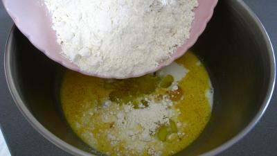 Cake au chorizo et crevettes - 2.2