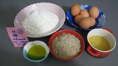 Ingrédients pour la recette : Gâteau pauvre (Bolo Pobre) du Portugal