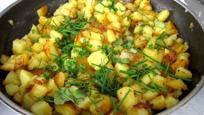 Cèpes aux pommes de terre à la landaise - 9.2