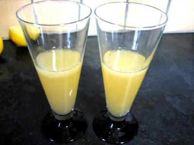 Recette Verres de cocktail white Lady