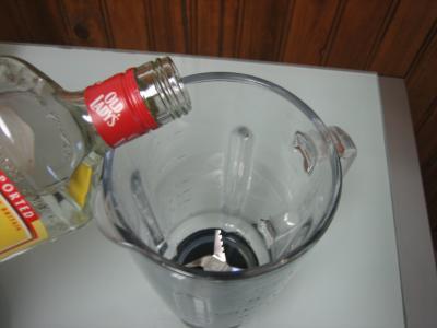Cocktail gin et lait d'amande - 1.1