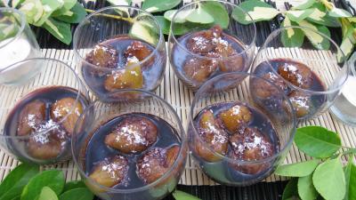 Recette Figues au vin rouge