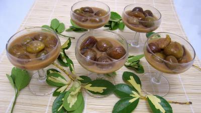 Recette Poêlée de figues au caramel