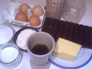 Ingrédients pour la recette : Carmélite au chocolat