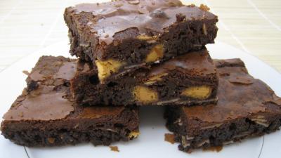 Photo : Chocolat (photo du brownie au chocolat blanc)