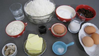 Ingrédients pour la recette : Brioche rose de Marie
