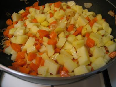 Côtes de veau sautées aux légumes - 5.2