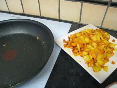 Omelette au potimarron et au chèvre - 5.3