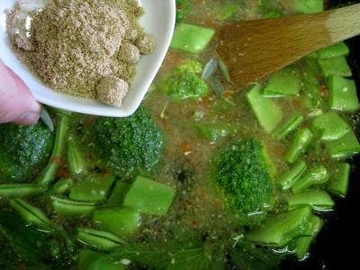 Velouté d'orties aux légumes - 11.3