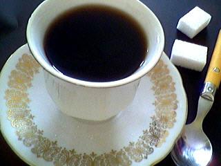 édulcorant : Tasse de café à l'armagnac
