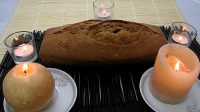fruits confits : Cake au thé noir