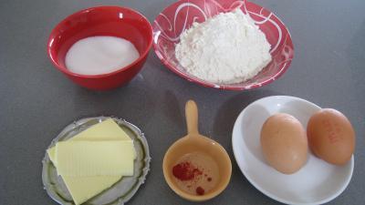 Ingrédients pour la recette : Biscuit au safran à la savoyarde