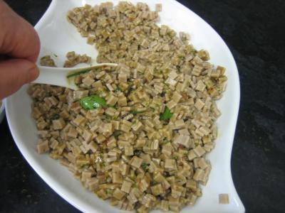 Salade végétarienne aux crozets et aux mirabelles - 5.3