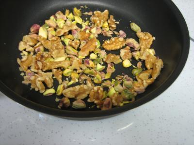 Salade végétarienne aux crozets et aux mirabelles - 7.2