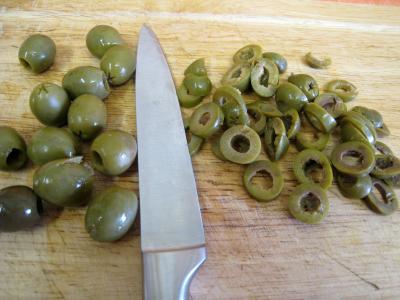 Cake aux olives - 1.1