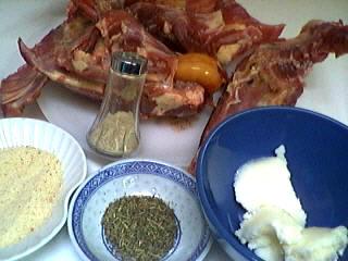 Ingrédients pour la recette : Carcasses de canards grillées